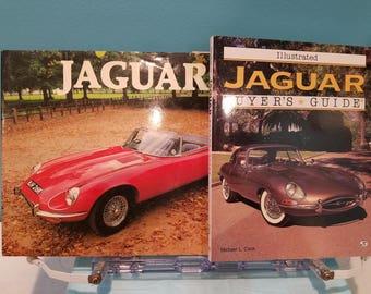 Jaguar Automobile Books - Lot of 2