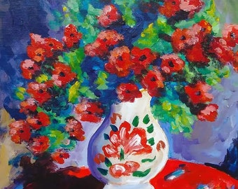 Chrysanthemes Rouges