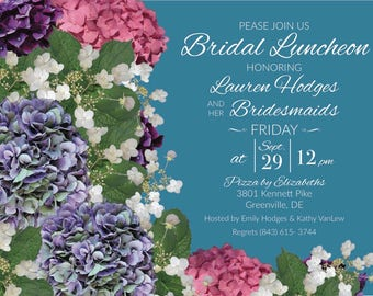 Bridal Luncheon - Bridal Shower - Wedding Shower