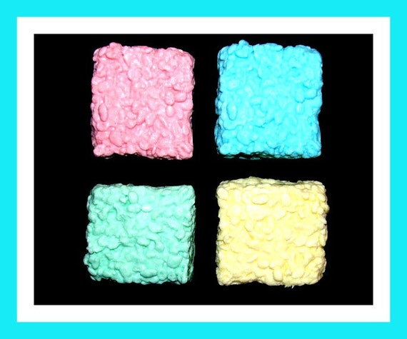 5 Large Rice Krispie Soap Favors,Birthday Party Favors,Baby Shower Favors,Girl Birthday Favors,Boy Birthday Favors,School Favor,Kid Soap
