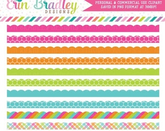 80% OFF SALE Rainbow Borders Clipart Commercial Use Clip Art Instant Download