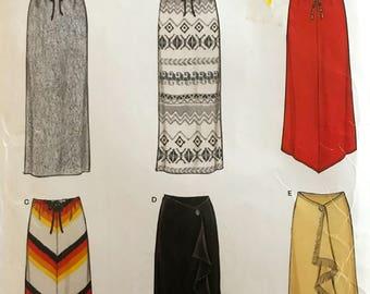 Nice Versatile Skirt Pattern---New Look 6019---Sizes 6 Thru 16  UNCUT