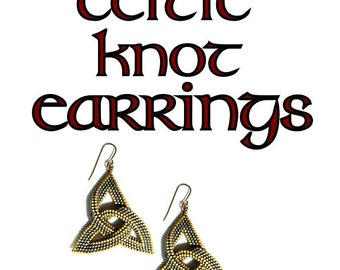 Celtic Knot Earring Tutorial