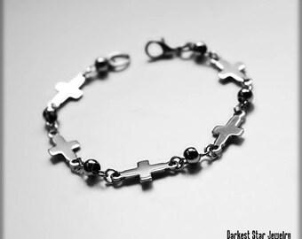 Depeche Mode Bracelet Crosses