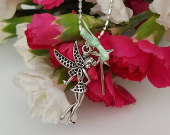Tinkerbell Charmed Necklace