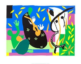 Henri Matisse Tristesse du Roi, 1952