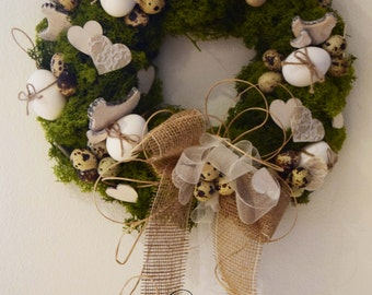 DIY Easter Country Wreath