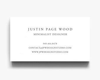 Business card design business card template calling cards business card template elegant calling card simple business cards minimalist business card flashek Gallery
