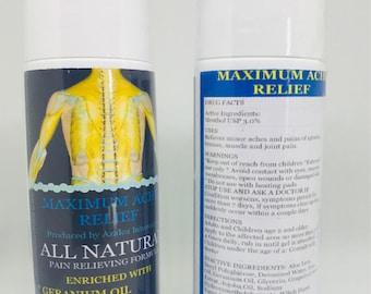 Maximum Ache Relief- Topical Pain Reliever