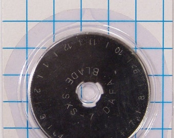 45mm Silver Replacement Rotary Cutter Blade