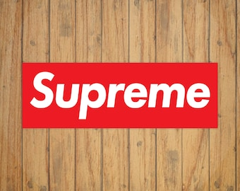 Supreme Skate Logo Decal/Sticker