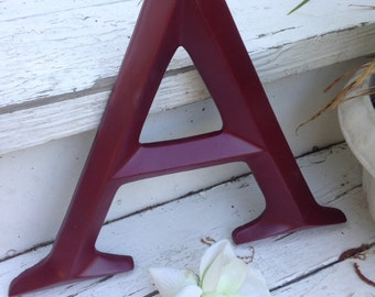 Wall Decor / Large Letter / Shabby Chic Wall Decor / New Item - PiCK YoUR CoLOr and PIcK YOuR LeTTeR