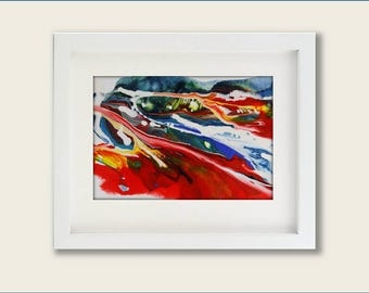 Acrylic Painting Painting Acrylic Abstract Painting Abstract Painting Contemporary Painting Modern Painting Small Painting Expressionism