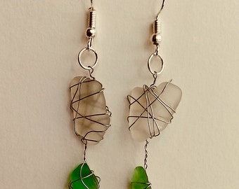 Santa Cruz Seaweed Earrings