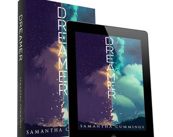 Dreamer-premade book cover design- Ebook & Print available