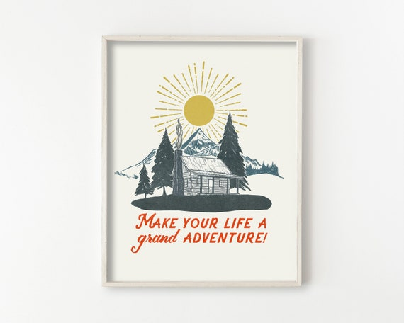 A Grand Adventure - wall art