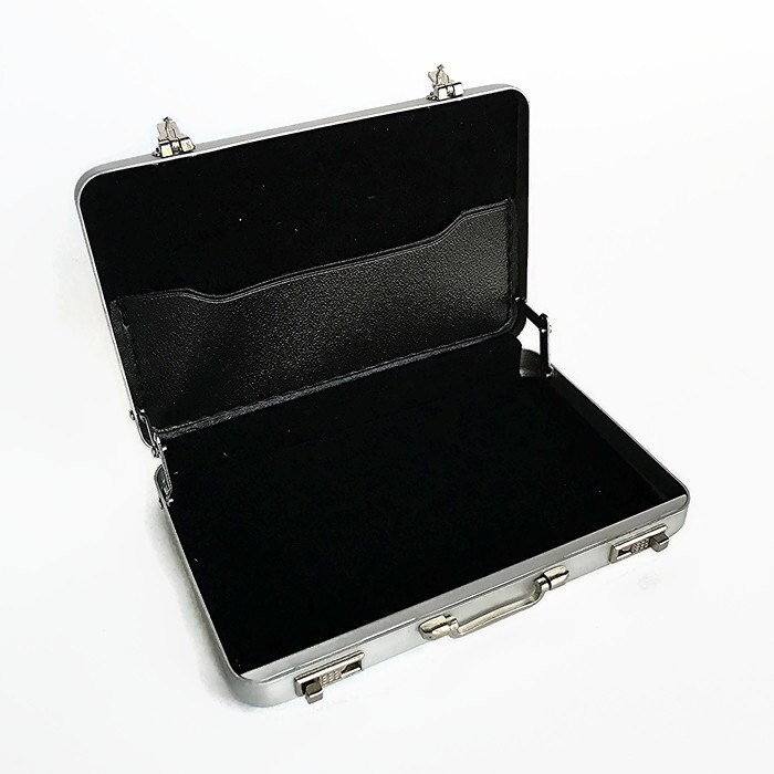 Personalized Business card holder - Mini Briefcase engraved business ...