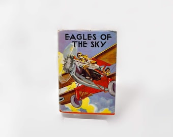 Eagles of the Sky Ambrose Newcomb 1930 Sky Detective Series Aviation History Graphics Jack Ralston