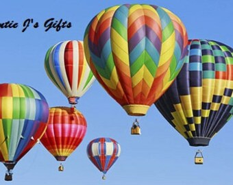Cross Stitch PATTERN graph for hot air balloons