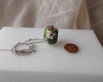Fairy house,Fairy,Necklace,Fairy doors,Fairy jewellery