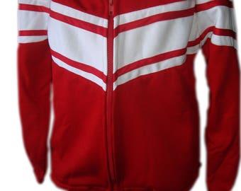 red sports uniform