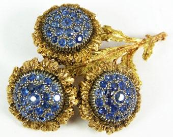 Fine Vintage BUCCELLATI 18kt Yellow Gold Brooch
