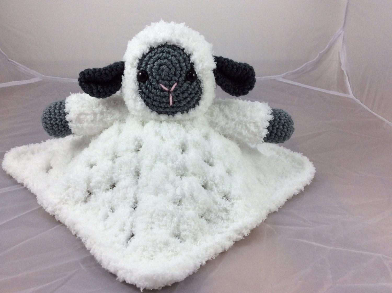 Sweet lamb loveysecurity blanket tutorial sheep tutorial zoom baditri Image collections