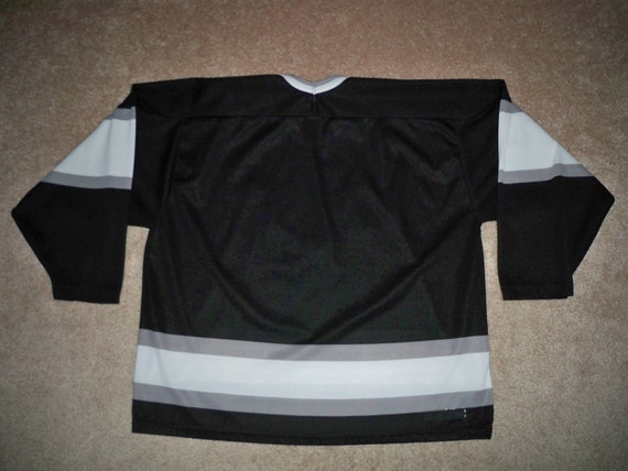 Made Canada Jersey Original CCM Vintage Maska NHL Los LA Angeles XLarge Authentic Size 90s Kings in gUq4wSO