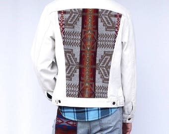 Arrow Tribe Levis X Pendleton coat, one of a kind