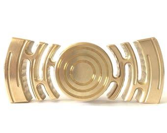 Hand fidget Spinner in Brass