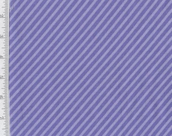 Dot Dot Dash - per Yd - by Me and My Sister - Moda - Purple Diagonal Stripe