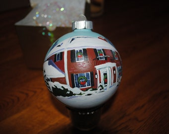 Custom Hand Painted Home Ornament --- sorry sold