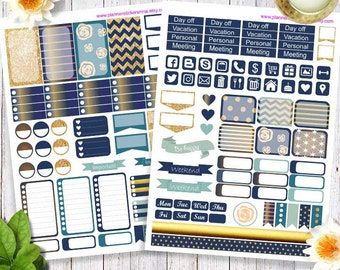Printable Happy Planner Stickers, Erin Condren Planner Stickers and Happy planner stickers