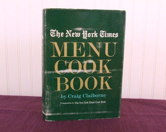 The New York Times Menu Cook Book, Vintage Cookbook, 1966