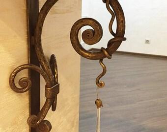 Bracket Metal Iron Forged Art