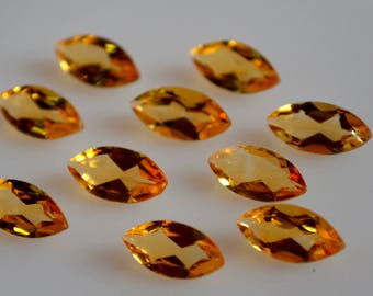 4x8 mm natural citrine marquise  faceted  loose gemstone AAA quality