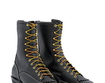 """Wesco Highliner 10"""" Work Boot Black"""
