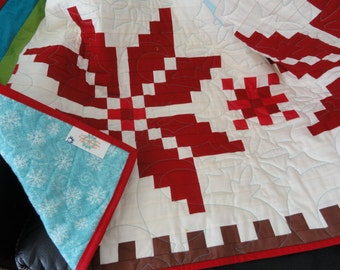 Fair Isle quilt Twin size