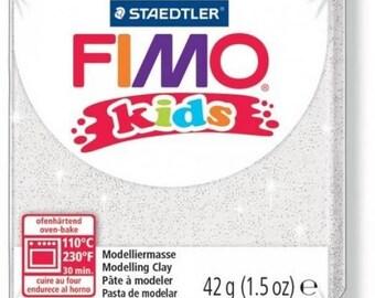 Polymer Kids white glittery no.052 - 42gr