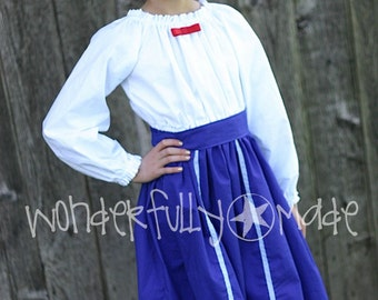 Mary Poppins Blue Dress/Costume