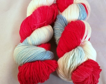 Queen on MCN fingering weight yarn