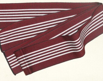 NewJapanese Obi Belt 'enji-iro' Red  For Men's Yukata,  Men's Obi, Men's Yukata Obi, Men's Kimono Obi-A Great Strap for Projects!