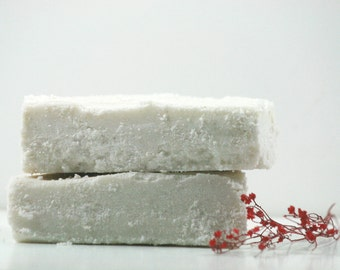 Winter Calm Sea Salt Soap - Luxury Sea Salt Soap Bar - Essential Oil Soap