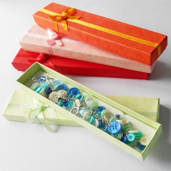 Bracelet Jewelry Boxes Long Gift Box Gift Wrap Case Wedding