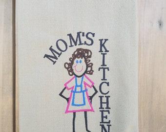 Mom's Kitchen Dish Towel