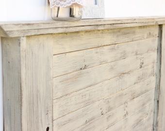 Distressed Cottage Headboard