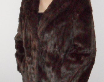 1960s vintage fur coat