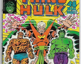 Marvel Two-in One Annual #3,#4,#5,#6   1980 Fantastic Fours THING,HULK,Nova,Black Bolt