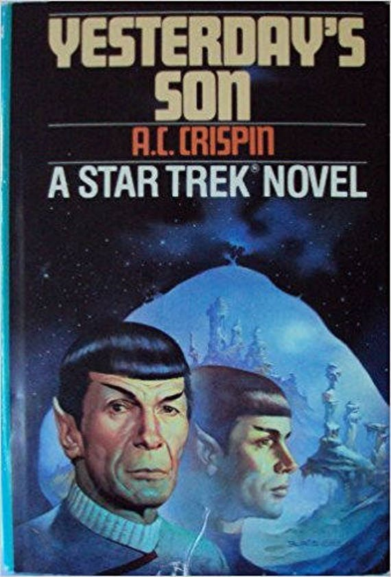 Yesterday's Son (A Star Trek Novel)