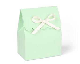 Favor boxes mint, Favor boxes, Mint paper bag, Mint favor bags, Mint green boxes, Mint green favor boxes, Mint favor boxes, Set of 8